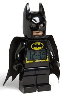 maybe getting your kids up for school won't be so hard with this Batman alarm clock ? Get this and of great Holiday gifts at LEGO Secret Stash today! Batman Love, Lego Batman, Superman, Thundercats, Boy Room, Kids Room, Batman Bedroom, Dc Comics, Minions