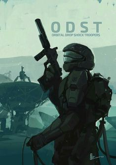 "amirzand: "" Orbital Drop Shock Trooper/ this is my third fan art from Halo ODST so far … this is something i do every two year so you can find the previous artworks in my early posts, Hope you like it guys ! Halo 3 Odst, Halo 5, Halo Armor, Halo Reach Armor, Halo Spartan, Halo Master Chief, Halo Series, Halo Game, Future Soldier"
