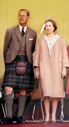 Highland games 1962 - Queen Elizabeth, Prince Phillip