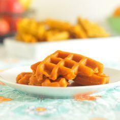 carrot juice waffle