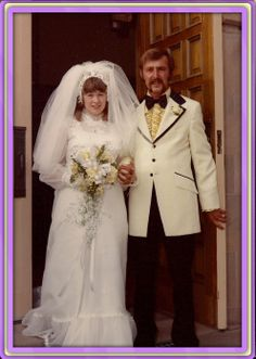 Wedding First Presbyterian Church Cheyenne Wyoming 1974