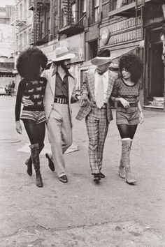 THE MOD SQUAD | 1970s—- Harlem, New York, 1970s. Photo by Anthony Barboza.