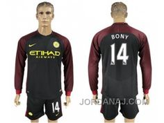 http://www.jordanaj.com/manchester-city-14-bony-away-long-sleeves-soccer-club-jersey.html MANCHESTER CITY #14 BONY AWAY LONG SLEEVES SOCCER CLUB JERSEY Only $20.00 , Free Shipping!