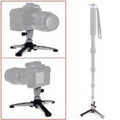 Neewer® Three Feet Support Holder Stand Base for Digital SLR Camera Camcorder and Monopod Unipod with 1/4 Screw