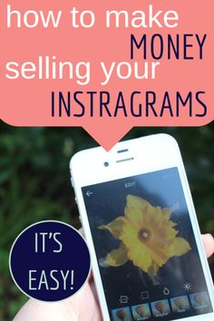 How to make money selling your Instagram photos without any hassle! http://www.athriftymrs.com/2014/03/could-you-make-money-selling-your-instagram-photos.html