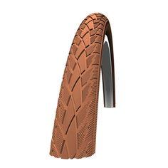 Schwalbe mest populära standarddäck. Slitbaneprofilen erbjuder bra grepp och tyst gång. Standarddäck har ett effektivt punkteringsskydd av naturgummi.