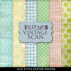 New Freebies Easter Papers