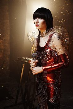 KAREN O. I saw her in concert a few years ago. Her performance was stunning. A true artist.