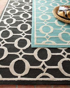 """""""O-Link"""" Rug at  Horchow #horchow"""