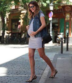 vestido-listras-sapatilha-street-style-look-gravida