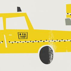 New York Taxi Print from Fox