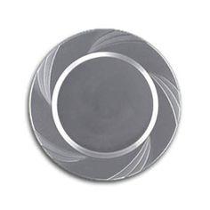 Newbury Silver Plastic Cake Plates - Gone  sc 1 st  Pinterest & 9.5\