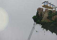 Paintings by Brooklyn-based painter and sculptor Dean Monogenis #art