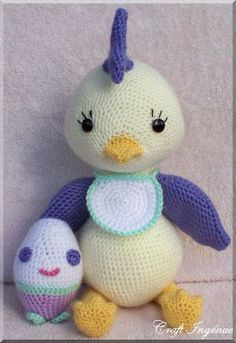 Pot Belly Babies Chicklet Free Amigurumi Pattern