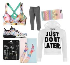 """Untitled #30"" by faultbackgame2strong on Polyvore featuring adidas, Topshop, Forever 21, Casetify and WearAll"