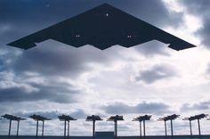 [フリー画像素材] 戦争, 軍用機, 爆撃機, B-2 スピリット, アメリカ軍 ID:201108230600