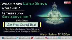 Brahma ji, Vishnu ji , Shiva ji is not complete god. All these are also in a cycle of birth & death. So to know who is that imperishable immortal God, watch Sadhana Channel at pm Verses About Strength, Verses About Love, Quotes About God, Lord Shiva, Sa News, Best Entrepreneurs, Spirituality Books, Inspirational Quotes For Women, Bible For Kids