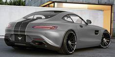 Mercedes AMG GT mit individualisierten 6Sporz² Felgen in 21 Zoll und Leistungssteigerung // Mercedes AMG GT with upgraded F.I.W.E.  wheels, hydraulic lift coilover and power upgrade // #wheelsandmore
