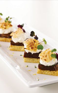 Savory s'mores with short rib and feta, by Limelight in Chicago