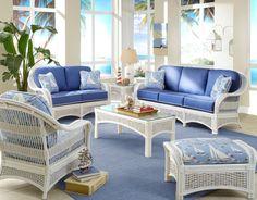 Regatta Sunroom Set From Spice Island Wicker. Sunroom Furniture, Beach ...