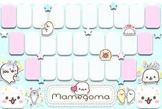 keyboard mamegoma by dari yamada
