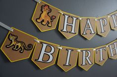 Hey, I found this really awesome Etsy listing at https://www.etsy.com/listing/265243375/the-lion-guard-birthday-banner