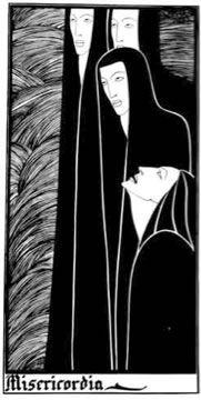 'Misericordia', Hannah Frank (1937) Pen and ink 40.7 cm x 20.2 cm Hannah Frank Collection. Prints available for sale.