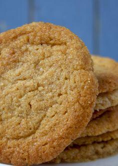 Crispy Butter Cookies - just 5 ingredients.