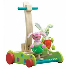 Shop for Wonderworld Toys Hopping Bunny Walker. Get free delivery On EVERYTHING* Overstock - Your Online Baby Toys Store! Presents For Kids, Gifts For Kids, Christmas Presents, Christmas Ideas, Educational Baby Toys, Push Toys, Wood Toys, Toddler Toys, So Little Time