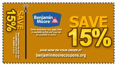 picture regarding Benjamin Moore Printable Coupon known as 7 Least complicated Benjamin Moore Coupon codes pics inside of 2013 Benjamin