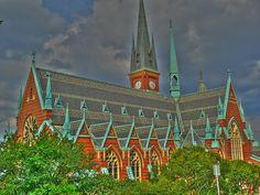 Church of Oscar Fredrik / Gothenburg, Sweden