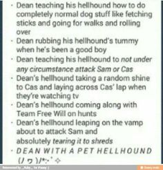 That would probably have been the greatest thing if Dean had actually stayed as a demon