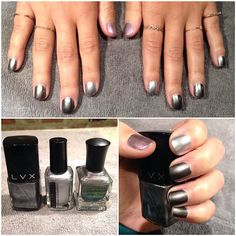 going silver this #manimonday