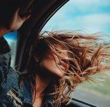 красота, брюнеты, машина, свобода, девушка