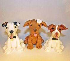 Custom Cake Topper, Dog, Pet, Mix Breed, Wedding Cake Topper, Animal Topper, Personalized