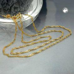 Kette, Singapurkette 45cm, 14Kt GOLD 45cm Dreambase, http://www.amazon.de/dp/B00H2IM71I/ref=cm_sw_r_pi_dp_pOvhtb0JSKPF9