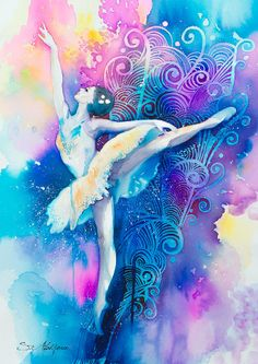 Ballerinaaa Painting  - Ballerinaaa Fine Art Print