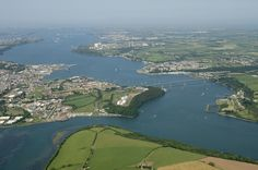 Where Henry VII landed in Pembrokeshire, Milford Haven, August 7 (Gill Milford Haven, Pembrokeshire Coast, Ireland Travel, Natural World, Homeland, Britain, United Kingdom, Places To Go, Scenery