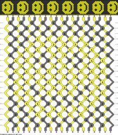 """Résultat de recherche d'images pour """"friendship bracelets patterns"""""""