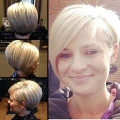 Long layered asymmetrical pixie by CCovey