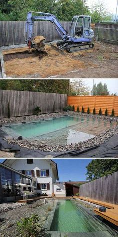 Natural Pool Ideas On Home Backyard 59
