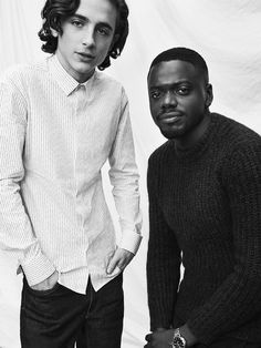 Love these two together, such camaraderie. Two rising starts. Dying to see Timothy & Daniel Call Me By Your Name & Black Panther & Get Out