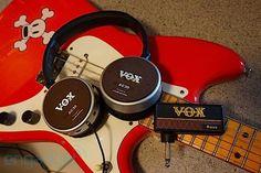 VOX jams guitar amps into AudioTechnica headphones, dubs them Amphones earson