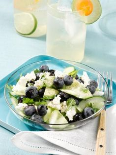 Blueberry-Cucumber Salad