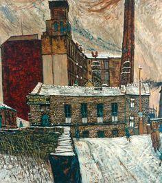 Peter Brook (1927-2009) - Mill in Winter, 1958