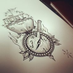 Compass / Ship by EdwardMiller