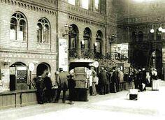 Berlin: Stettiner Bahnhof, Gepäckaufbewahrung, 1898