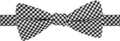 Countess Mara Gingham Pre-Tied Bow Tie