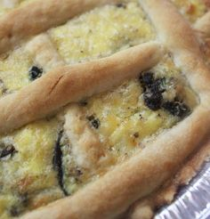 This recipe is great to use for mini quiches, served at a snack, or big savory tarts for lunch or dinner. Cheese Quiche, Cheese Pies, South African Recipes, Ethnic Recipes, Biltong, Savory Tart, Dutch Recipes, Protein Snacks, Blue Cheese