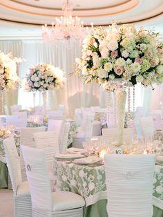 Black tie wedding flower centerpieces from weddings theknot comThe Prettiest Wedding Flower Ideas from 2013  To see more  http  . Flower Centerpieces For Wedding Reception. Home Design Ideas